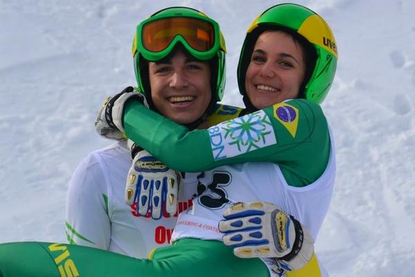 Snowboarder brasileiro representará o país nos Jogos Paralímpicos de Inverno em Sochi, na Rússia