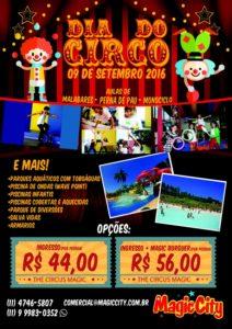 Magic City terá atrações especiais no Dia do Circo