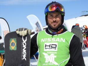 Snowboarder paralímpico conquista pentacampeonato brasileiro
