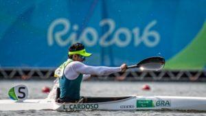 Luis Carlos Cardoso disputará o Brasileiro de Paracanoagem