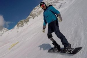 Snowboarder Andre Cintra realiza treinamento intensivo na Europa