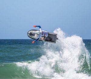 Atleta brasileiro fica entre os top 5 na estreia do Mundial de Motosurf