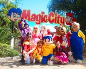 Magic City terá desfile com personagens infantis em especial de Natal