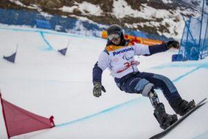 Snowboarder Andre Cintra conquista resultado inédito nos Jogos Paralímpicos