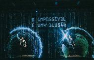 Ilusionistas apresentam espetáculos com realidade aumentada e holograma