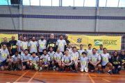 Treino oficial da Seleção Brasileira Masculina de Vôlei de Surdos acontece neste sábado (19/10)