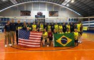 EUA leva a melhor e ganha do Brasil na terceira partida do Panamericano de Vôlei de Surdos