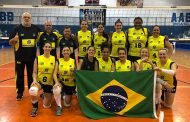 Brasil é vice-campeão no Panamericano de Vôlei de Surdos Feminino