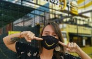 Movimento Happiness produz máscaras e reverte lucro para projeto social